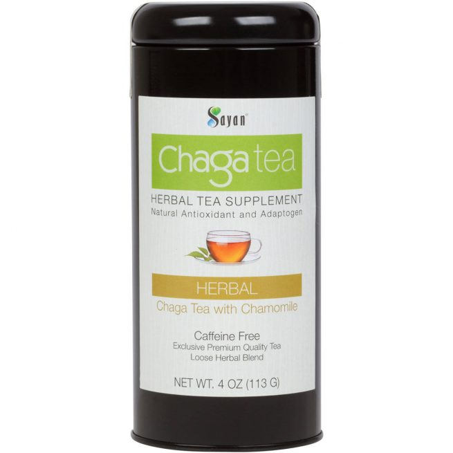 Chaga Loose Tea with Chamomile